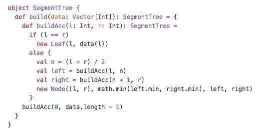 Segment TreeRMQ